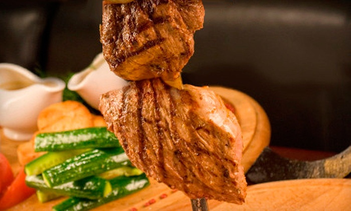 Brazil Grill - Clinton: $49 for an All-You-Can-Eat Rodizio Dinner for Two  Wednesday–Sunday at Brazil Grill ($101.40 Value)