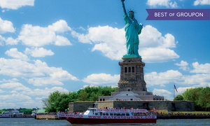 New York Water Tours: Downtown Liberty Cruise for One or Two with New York Water Tours (Up to 54% Off)