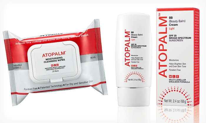 Atopalm BB Face Cream and Cleansing Wipes: $19.99 for Atopalm BB Face Cream and Moisturizing Cleansing Wipes ($30.39 List Price). Free Shipping.