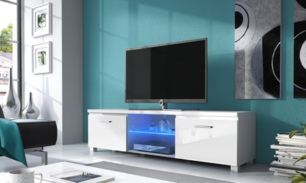 tv kast met led verlichting groupon goods. Black Bedroom Furniture Sets. Home Design Ideas