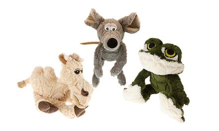 Plush Squeak Dog Toys (3-Pack)