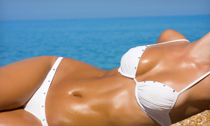 Bronze Tan - Clayton: Two or Three Airbrush Tans or One Month of UV Tanning at Bronze Tan (Up to 56% Off)