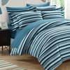 Chic Home Striped-Print Reversible Duvet Cover Set (2- or 3-Piece)