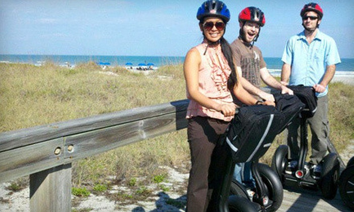 Space Coast Segway Tours, LLC - Multiple Locations: Guided Tour of Port Canaveral or Cocoa Beach for One, Two, or Four from Space Coast Segway Tours, LLC (Up to 66% Off)