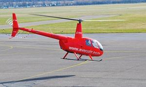 Aveo Air Service: 10 oder 20 Min. Hubschrauber-Rundflug von einem Standort nach Wahl mit Aveo Air Service ab 49,50 € (50% sparen*)