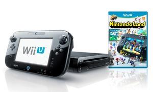 Nintendo Wii U Deluxe Set With Nintendo Land (manufacturer Refurbished)