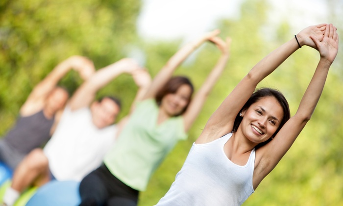 GC Fit - Multiple Locations: One or Two Months of Boot Camp with a Nutrition Plan and T-Shirt at GC Fit (Up to 70% Off)