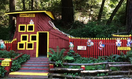 $5 for Admission for Two to Gravity House at Confusion Hill ($10 Value)