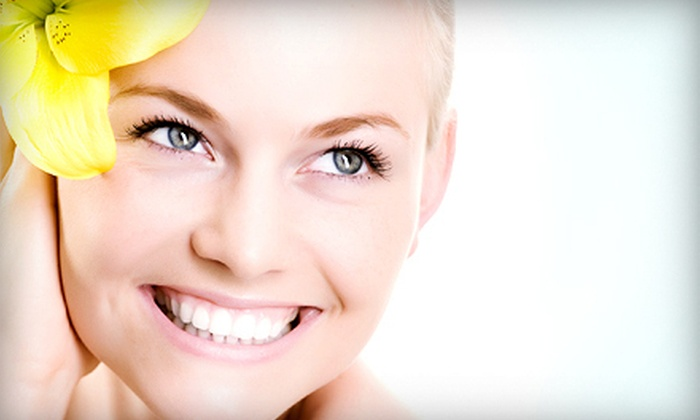 Salon Adagio - Rogers: Facial or Chemical Peel with Express Pedicure at Salon Adagio (Up to 52% Off)