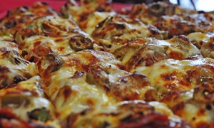 Red's Savoy Pizza - Eden Prairie: Pizza and Drinks at Red's Savoy Pizza - Eden Prairie (Up to 43% Off). Three Options Available.
