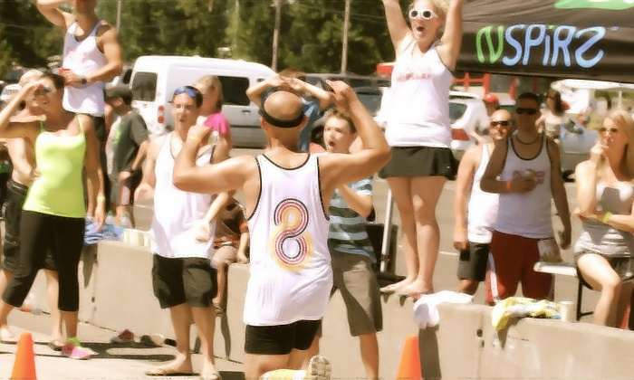 8 Track Experience - Portland International Raceway: One Disco Half Marathon Entry or Hustle 5K Race Entry from 8 Track Experience on July 19 (Up to 41% Off)