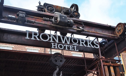 Stay at Ironworks Hotel in Beloit, WI, with Dates into July