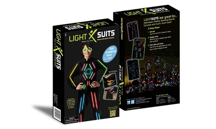 Glow-in-the-Dark LightSuit for Kids and Adults