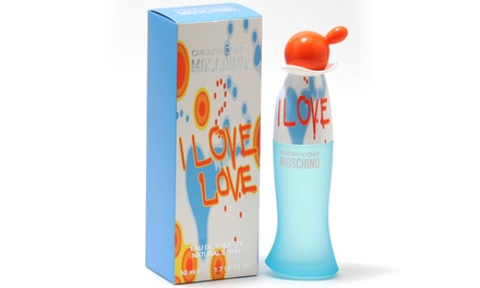 I Love Love 1.7 Oz. Eau de Toilette Spray by Moschino
