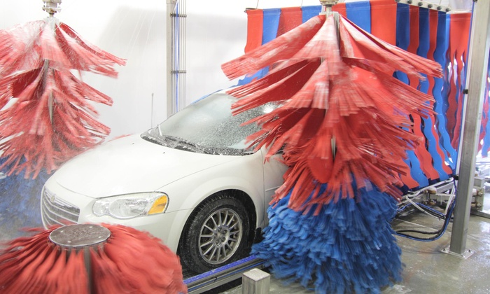 Lucas Oil Center - Knight: Works Express Wash, Clean Wash, or Works Full-Service Washes for Any Size Vehicle at Lucas Oil Center (50% Off)