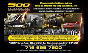 500 Fitness Inc.: $35 for $153 Worth of Gym Membership at 500 Fitness Inc.