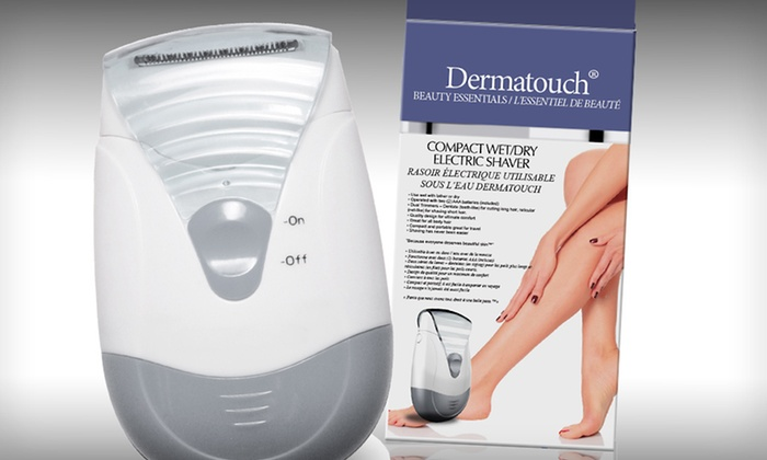 Dermatouch Wet/Dry Electric Shaver: $19.99 for a Dermatouch Compact Wet/Dry Electric Shaver ($49.99 List Price). Free Shipping.
