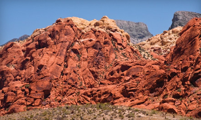 Las Vegas Travel Desk - Grand Canyon Tour & Travel: $59 for a Red Rock Canyon Bus Tour with Lunch from Las Vegas Travel Desk ($109.99 Value)