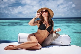 Newport Beauty: A Custom Airbrush Tanning Session at The Bod Beauty Supply (68% Off)