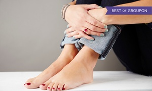 Creations Salon: One or Two Mani-Pedis with Sugar Scrubs at Creations Salon (Up to 62% Off)