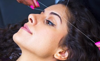 Eyebrow Threading and Tint