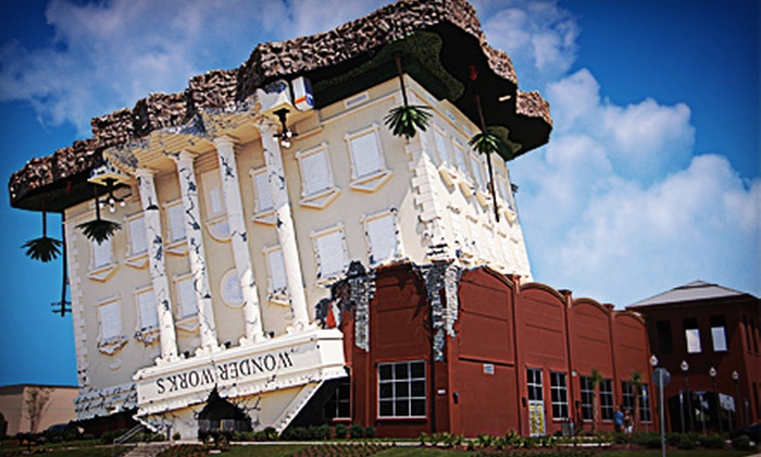 WonderWorks Panama City Beach - The Glades: $23 for General Admission Tickets for Two to WonderWorks Panama City Beach (Up to $45.98 Value)
