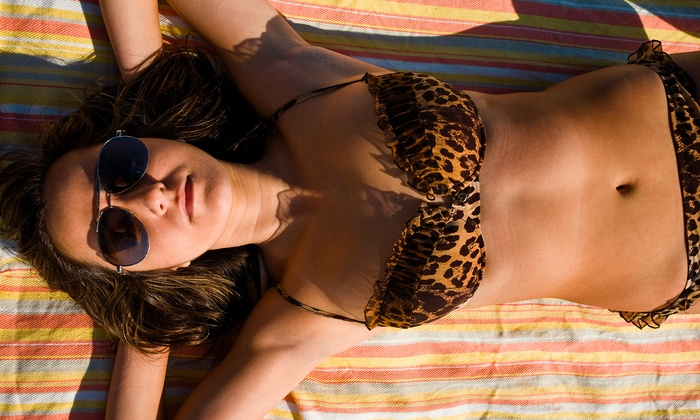 The Tannery - Woodward Park: UV-Tanning Session in the European or Matrix Bed or Custom Spray Tan at The Tannery (Up to 69% Off)