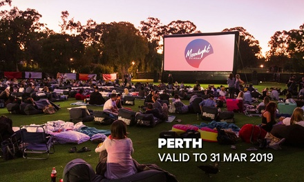 Moonlight Cinemas: GA Tickets for $14 - May Drive Parkland, Perth (Up to $20 Value)