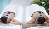 Masaje en pareja con aromaterapia, envoltura, cava, bombones y opción a masaje kobido desde 24,90 € en Centro Malilla