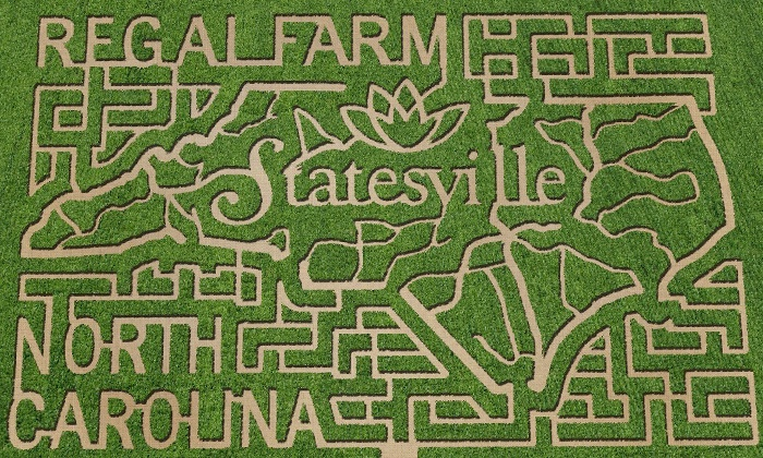 Regal Corn Maze - Statesville: Corn-Maze Admission for Two or Four with Activity Tickets at Regal Corn Maze (Up to 50% Off)