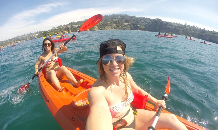 Just Kayak - Pacific Beach: All-Day Double or Single Kayak Rental from Just Kayak (Up to 45% Off).