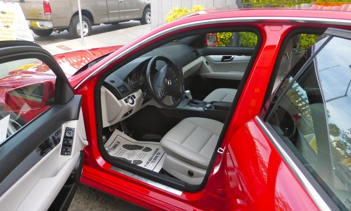 Diamond Auto - Central San Jose: Detail, Headlight Cleaning, and Scratch Removal from Diamond Auto Detail (50% Off)