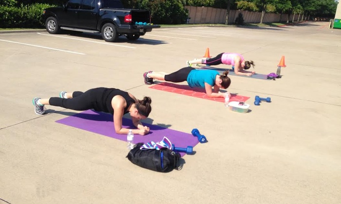 Angie's Boot Camp - Garland: 10 Boot-Camp Classes at Angie's Boot Camp (64% Off)