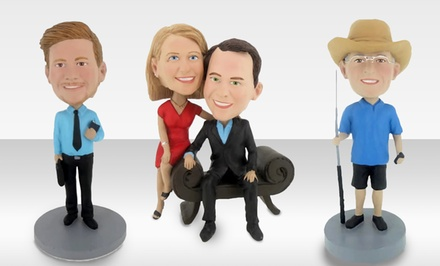 Custom Bobblehead from BigBobble. Premade or Customized Bodies Available from $69.99–$89.99.