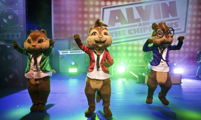 "Alvin and the Chipmunks: The Musical - Murat Theatre at Old National Centre: ""Alvin and the Chipmunks: Live on Stage!"" on Saturday, November 7, at 2 p.m."