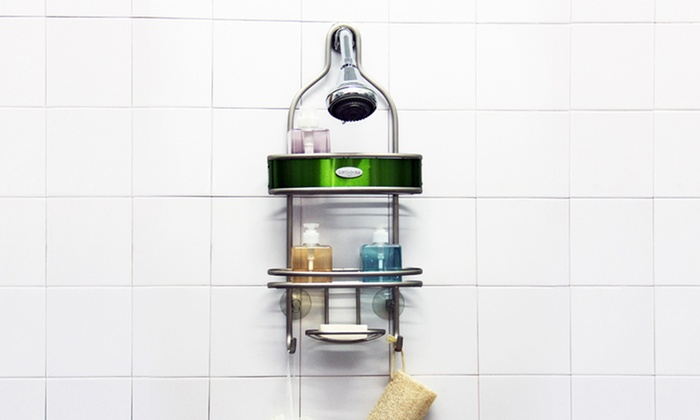 Samsonite 2-Tier Shower Caddy: Samsonite Nickel 2-Tier Shower Caddy. Multiple Colors Available. Free Shipping and Returns.