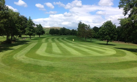 18 Holes Of Golf For Two Glynhir Golf Club Groupon