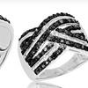 $99.99 for a Diamond Crisscross Ring