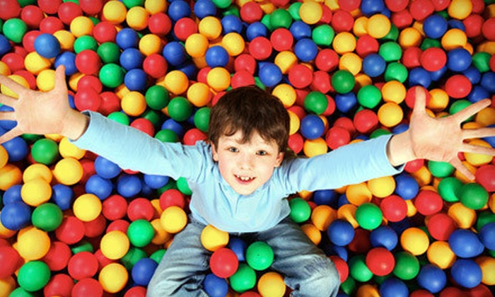 Kidnetix Edu-Play Centre - Multiple Locations: Three or Five Kids' Drop-In Indoor Play Sessions at Kidnetix Edu-Play Centre (Up to 53% Off)