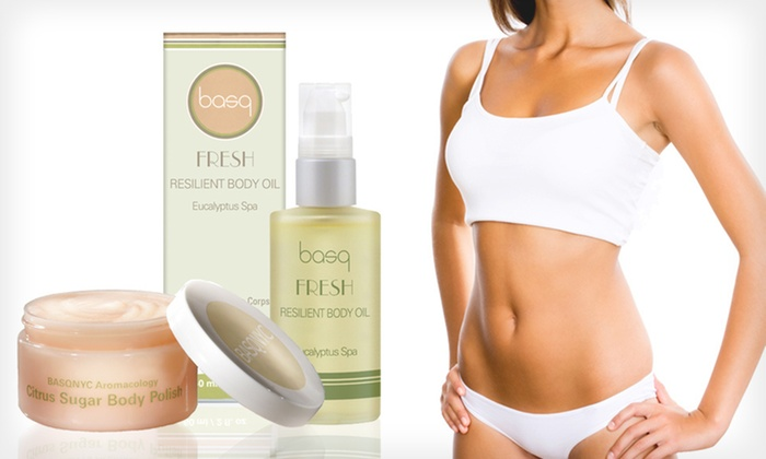 basq NYC Toning and Tightening Kit: $19 for a basq NYC Toning and Tightening Kit ($40.50 List Price)
