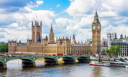 ✈ London: 1, 2 or 3 Nights with Flights and Stay at Choice of Hotels*