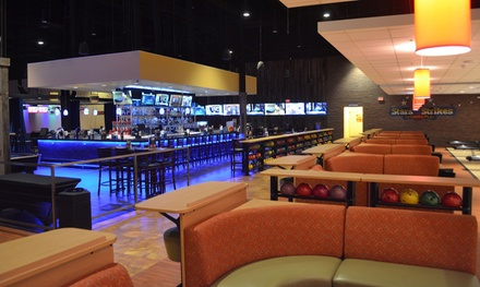 One Hour of Bowling for Two or Six People, Game Card, and Bumper Car Passes at Stars and Strikes (Up to 54% Off)