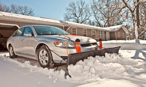 Nordic Plow LLC: Snow Pusher or Car Plows from Nordic Plow LLC (Up to 36% Off). Five Options Available.