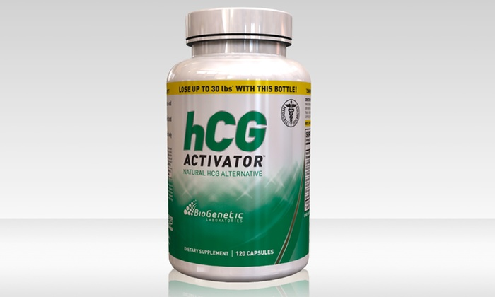 BioGenetic Laboratories HCG Activator Fat-Loss Capsules: $24.99 for BioGenetic Laboratories HCG Activator Fat-Loss Capsule and Diet Plan ($79.99 List Price). Free Shipping.
