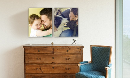 8x10, 11x14, 16x20, 18x24, or 20x30 Canvas Photo Print from Canvas People (Up to 90% Off)
