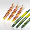Set of 3 NCAA Toothbrushes