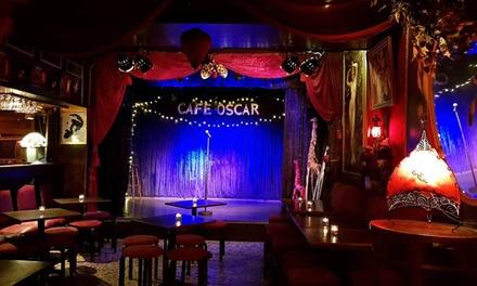 Un spectacle avec tartine et boisson au choix sur la carte pour 2 personnes à 24,90 € au Café Oscar Paris