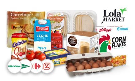 Obtén un pack de productos gratis con Lola Market en Mercadona, DIA, Carrefour Market o Supermercado ECI