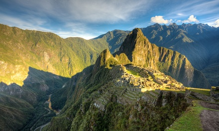 Groupon Deal: ✈ 5-Day Tour of Peru with Airfare from Gate 1 Travel. Price per Person Based on Double Occupancy.