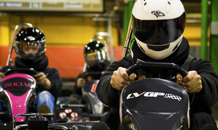 Lehigh Valley Grand Prix, LLC - Southside: One or Two Go-Kart Races at Lehigh Valley Grand Prix (Up to 58% Off)
